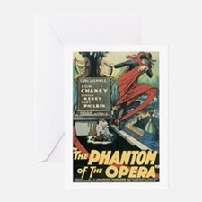Phantom of the Opera 1925 Greeting Card