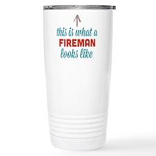 Fireman Looks Like Thermos Mug