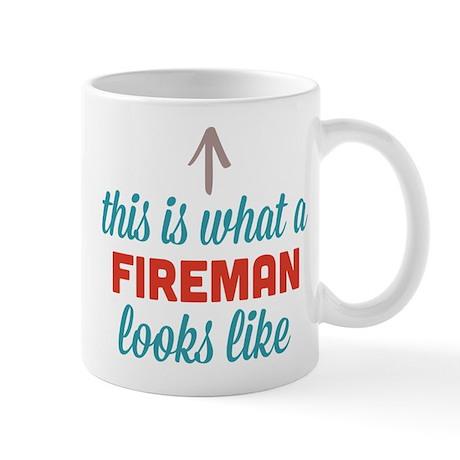 Fireman Looks Like Mug