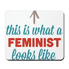 Feminist Looks Like Mousepad