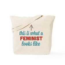 Feminist Looks Like Tote Bag