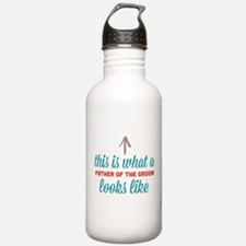 Father Of The Groom Water Bottle