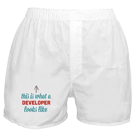 Developer Looks Like Boxer Shorts
