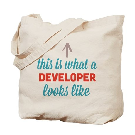 Developer Looks Like Tote Bag