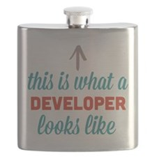 Developer Looks Like Flask