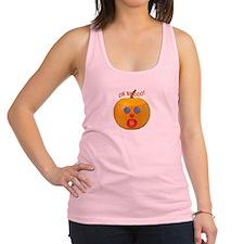 Oh No! Mr.Pumpkin! Racerback Tank Top