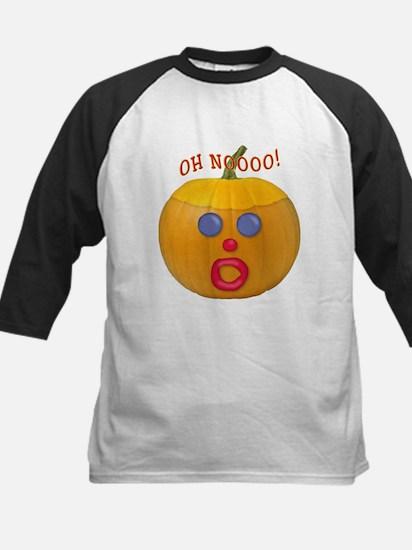 Oh No! Mr.Pumpkin! Kids Baseball Jersey