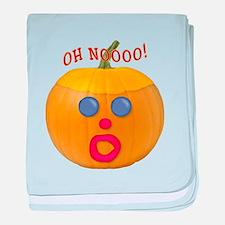 Oh No! Mr.Pumpkin! baby blanket