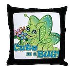 Cute Bug Throw Pillow