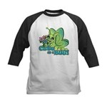 Cute Bug Kids Baseball Jersey