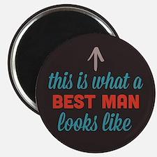 """Best Man Looks Like 2.25"""" Magnet (10 pack)"""