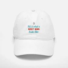 Best Man Looks Like Baseball Baseball Cap
