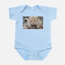 angry cheetah Infant Bodysuit