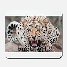 angry cheetah Mousepad