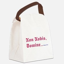 nobis600.png Canvas Lunch Bag