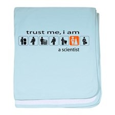 Trust me, I am a scientist baby blanket