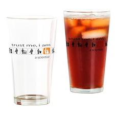 Trust me, I am a scientist Drinking Glass