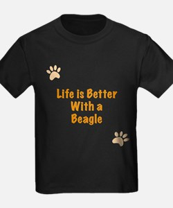 Life is better with a Beagle T