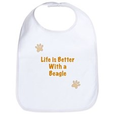 Life is better with a Beagle Bib