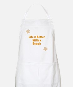 Life is better with a Beagle Apron