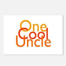 One Cool Uncle Postcards (Package of 8)