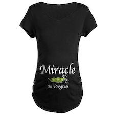 Miracle In Progress (Tummy) T-Shirt