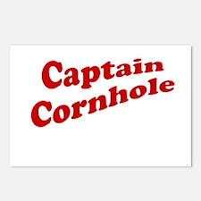 Captain Cornhole Postcards (Package of 8)