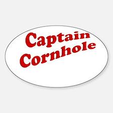 Captain Cornhole Decal