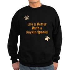 Life is better with a Boykin Spaniel Jumper Sweater