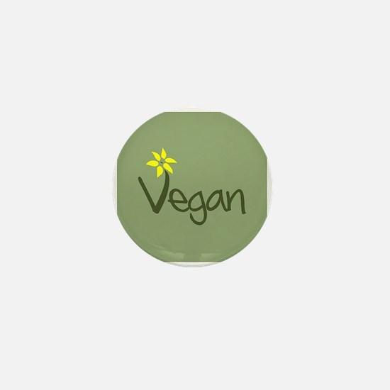 Vegan Mini Button