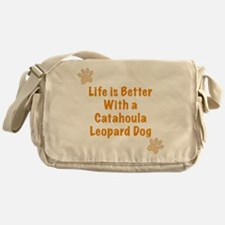 Life is better with a Catahoula Leopard Dog Messen