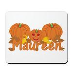 Halloween Pumpkin Maureen Mousepad