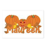 Halloween Pumpkin Maureen Postcards (Package of 8)
