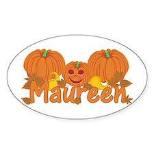 Halloween Pumpkin Maureen Decal