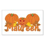 Halloween Pumpkin Maureen Sticker (Rectangle)