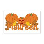 Halloween Pumpkin Maureen 20x12 Wall Decal