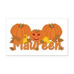 Halloween Pumpkin Maureen Rectangle Car Magnet