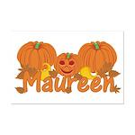 Halloween Pumpkin Maureen Mini Poster Print