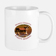 North Dakota Party Animal Mug