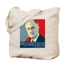 "FDR - ""PROGRESSIVE"" Tote Bag"