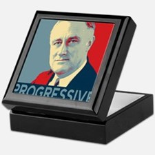 "FDR - ""PROGRESSIVE"" Keepsake Box"