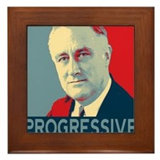 """FDR - """"PROGRESSIVE"""" Framed Tile"""
