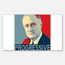 "FDR - ""PROGRESSIVE"" Decal"