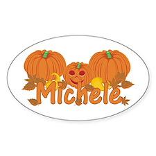 Halloween Pumpkin Michele Decal