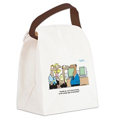 Cutting Edge of Technology Canvas Lunch Bag
