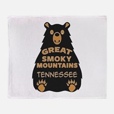 Great Smoky Mountains National Park Throw Blanket