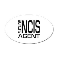 Future NCIS agent 22x14 Oval Wall Peel