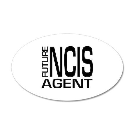 Future NCIS agent 38.5 x 24.5 Oval Wall Peel