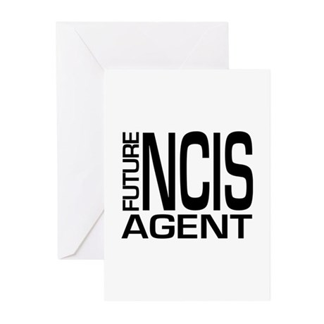 Future NCIS agent Greeting Cards (Pk of 10)
