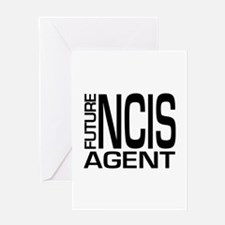 Future NCIS agent Greeting Card